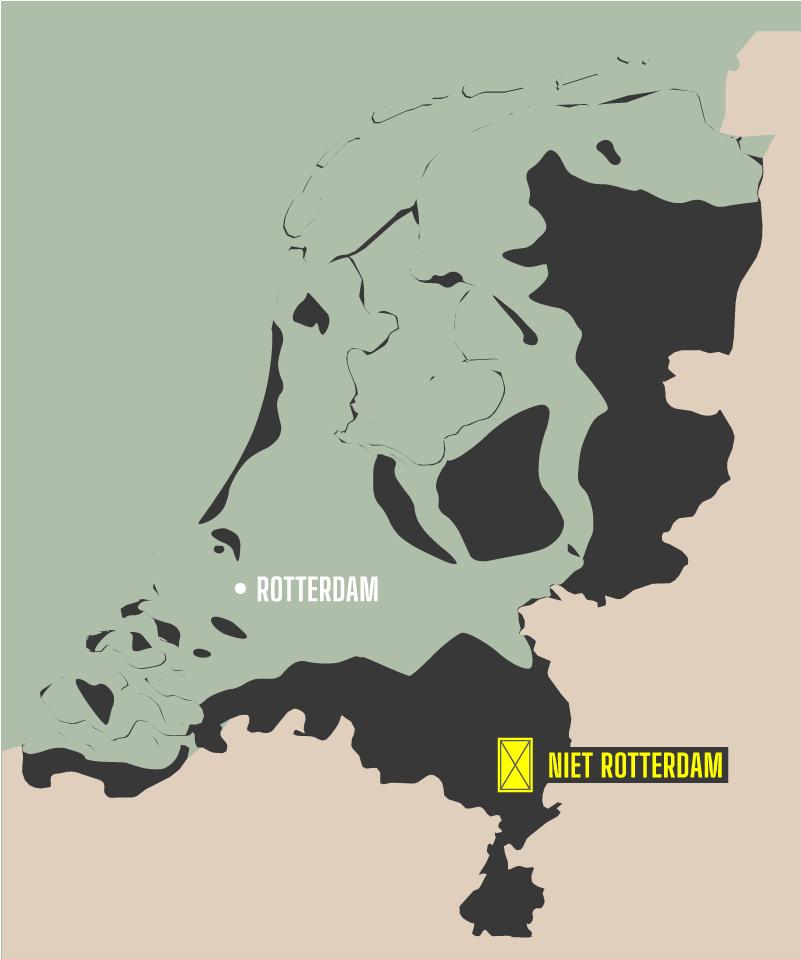 niet rotterdam - watergrens